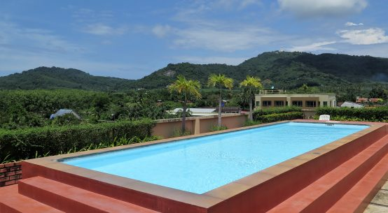 Phuket apartment with rooftop pool