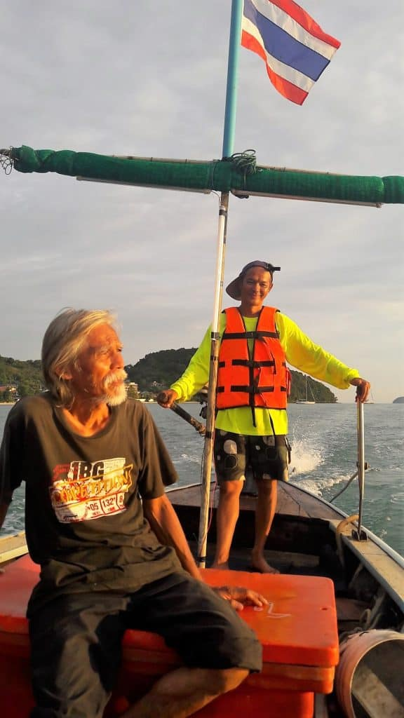 longtail boat phuket