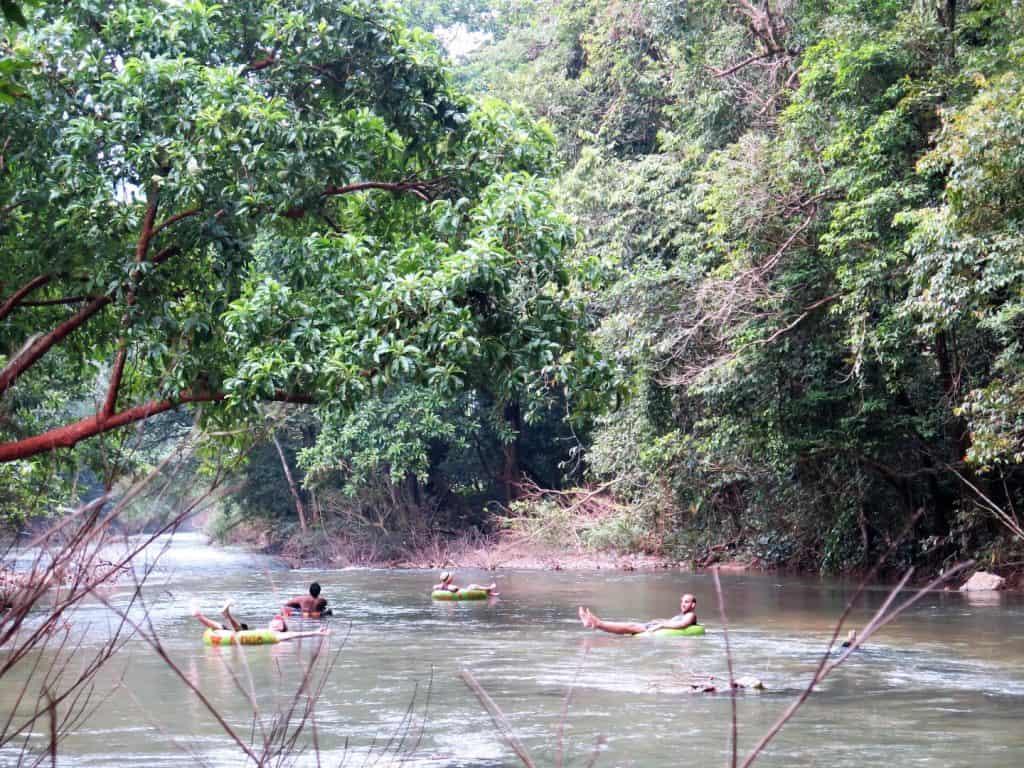 khao sok tubing