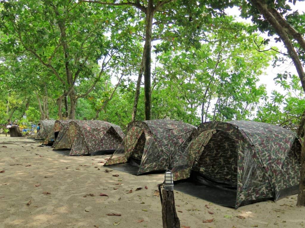 camping similan islands