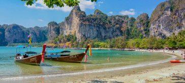 thailand beach boats