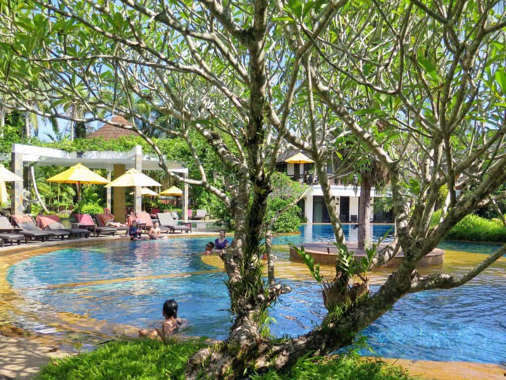 hotspring beach resort pool