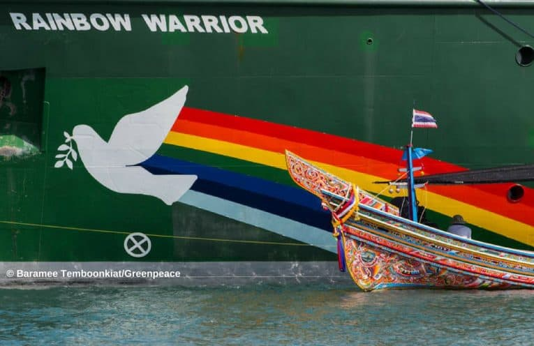rainbow warrior phuket
