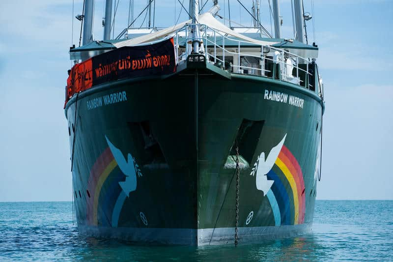 rainbow warrior thailand