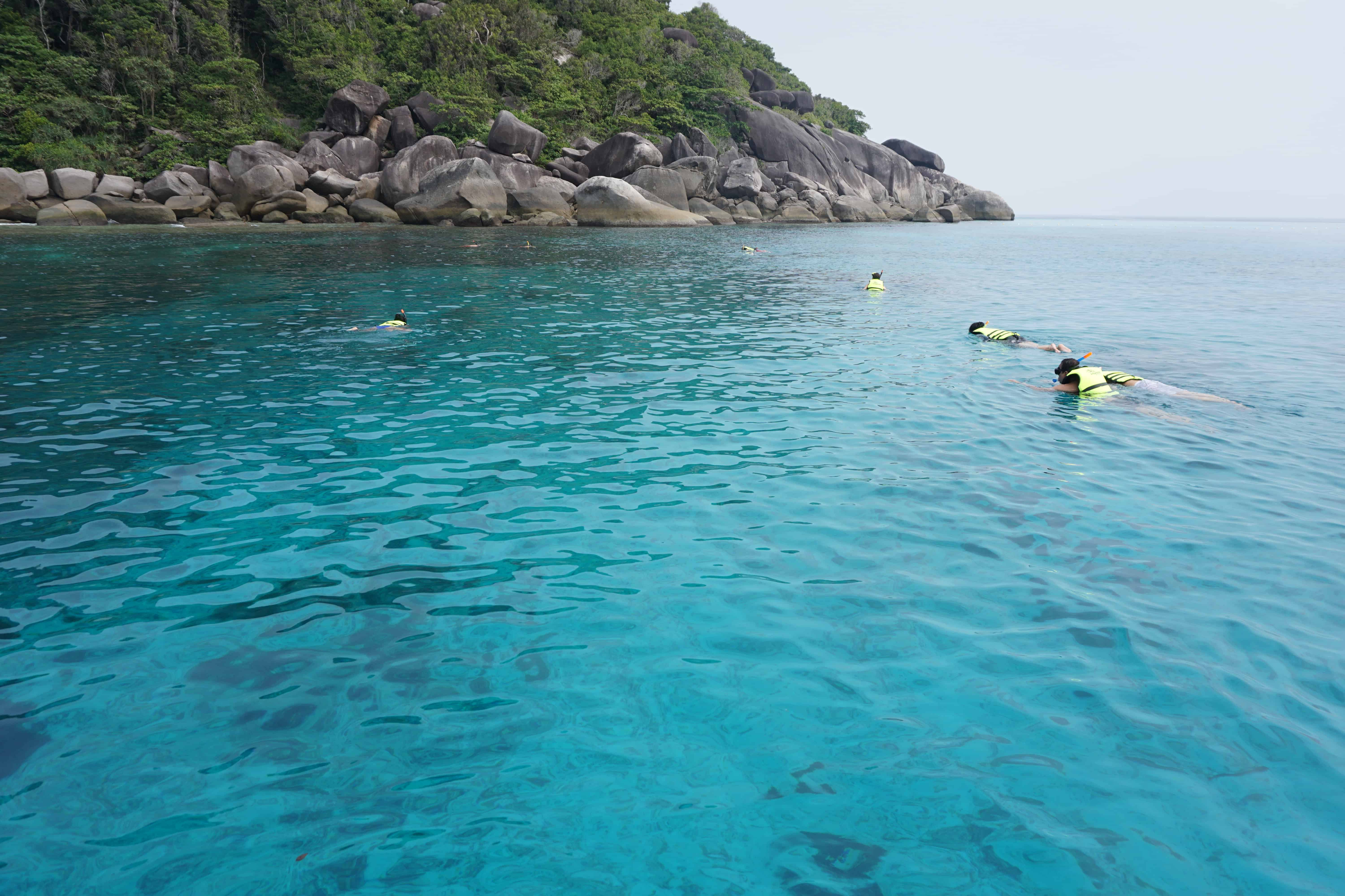 snorkelling with kids thailand