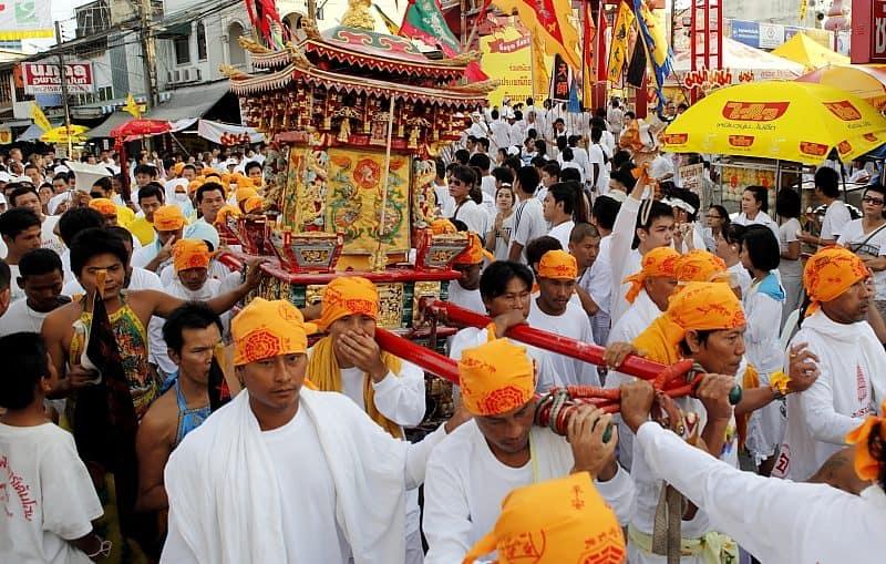 Phuket Vegetarian Festival parade