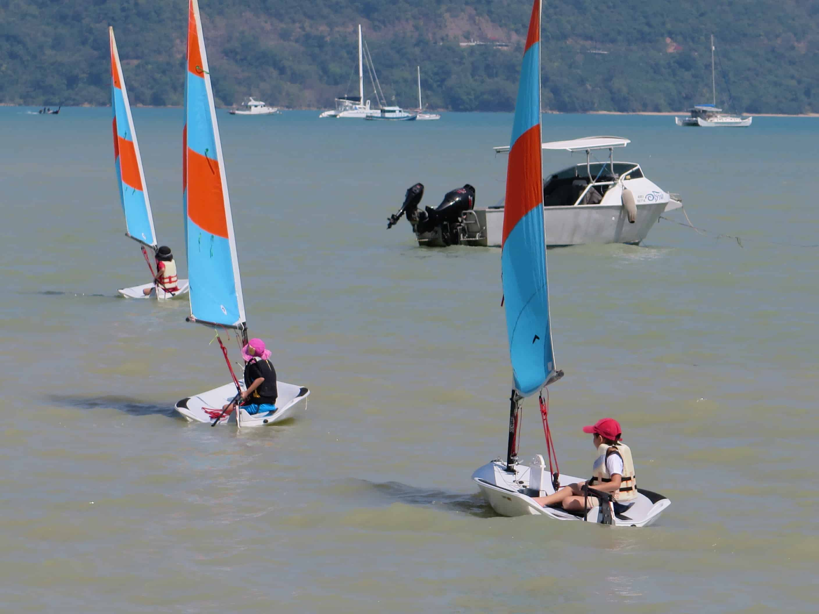 learn to sail phuket