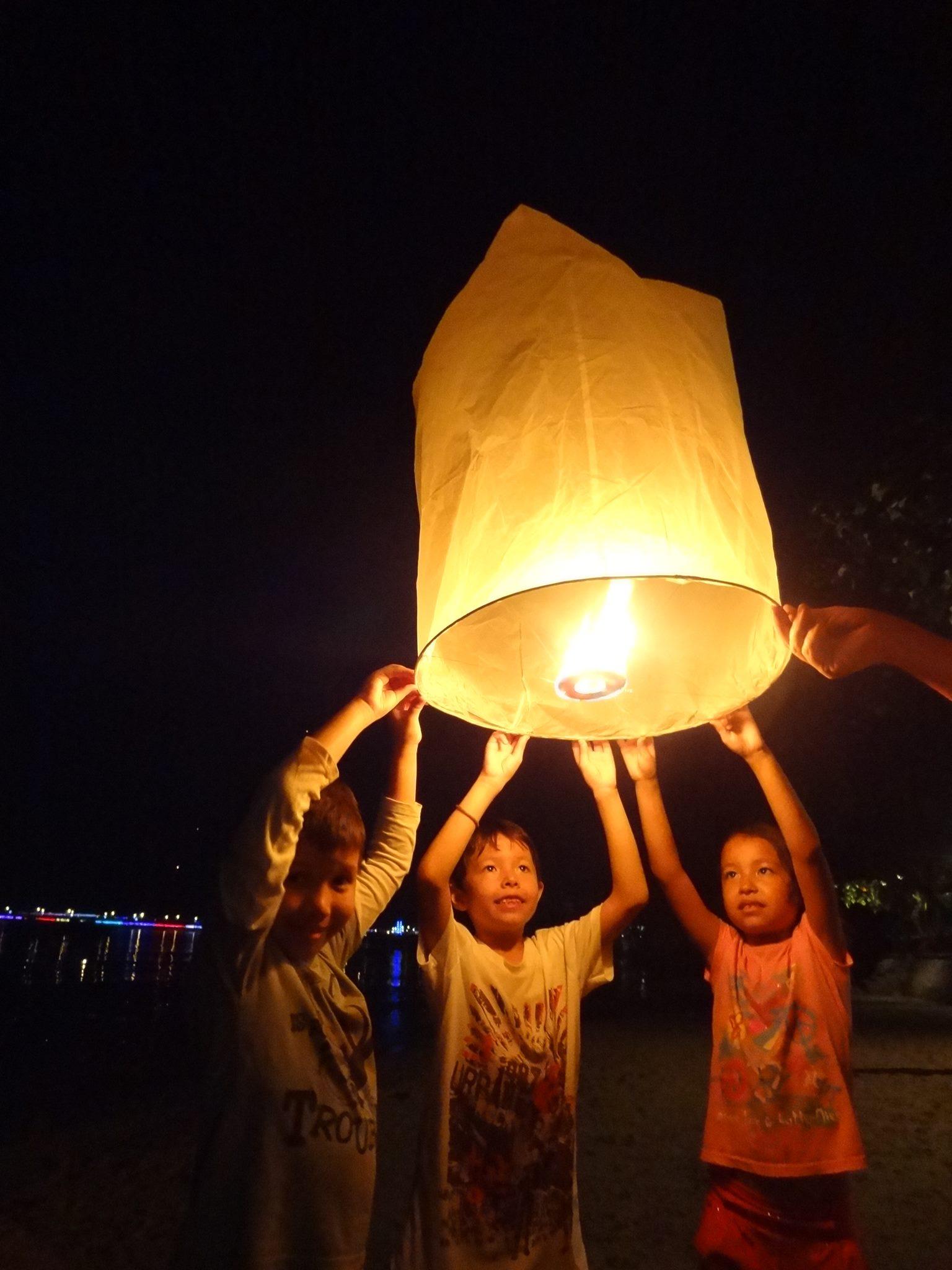 Loy Krathong festival Phuket