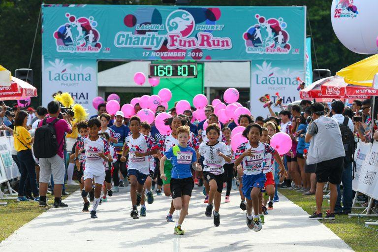 phuket running kids