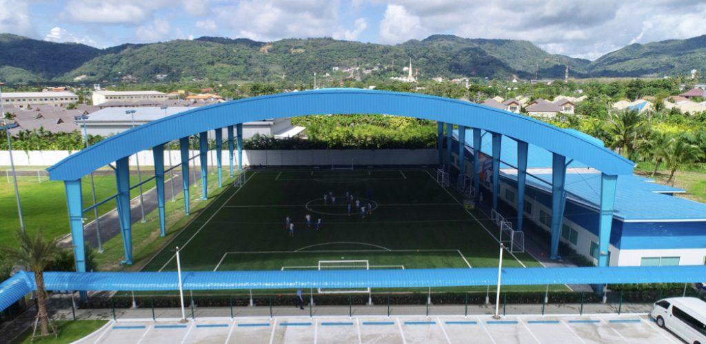 BCIS Academy football